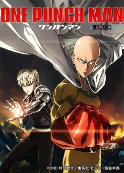 Ван Панч Мен [ТВ-1] / One Punch Man постер