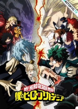 Моя геройская академия [ТВ-3] / Boku no Hero Academia 3rd Season постер