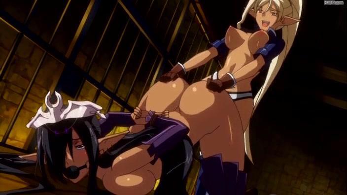 Порно аниме благородных воительниц
