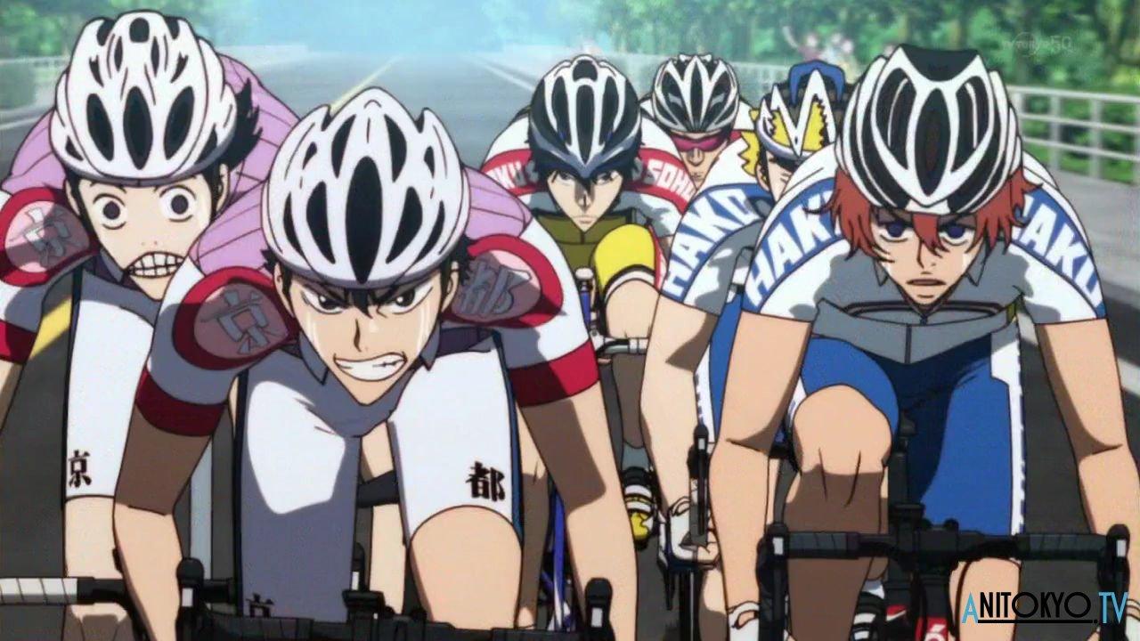 Смотреть аниме трусливый велосипедист 1 фотография